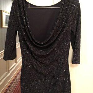 Windsor Dresses - Navy shimmering dress